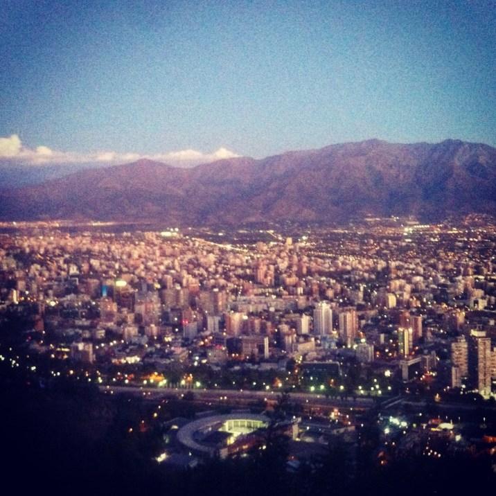 Santiago i góry