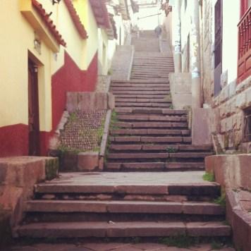 i znowu po schodach