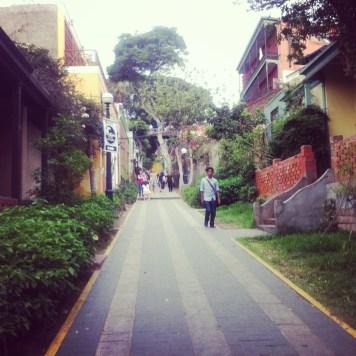 spacerując po Baranco