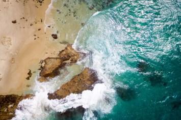 Atrakcje Brisbane Moreton Island drone