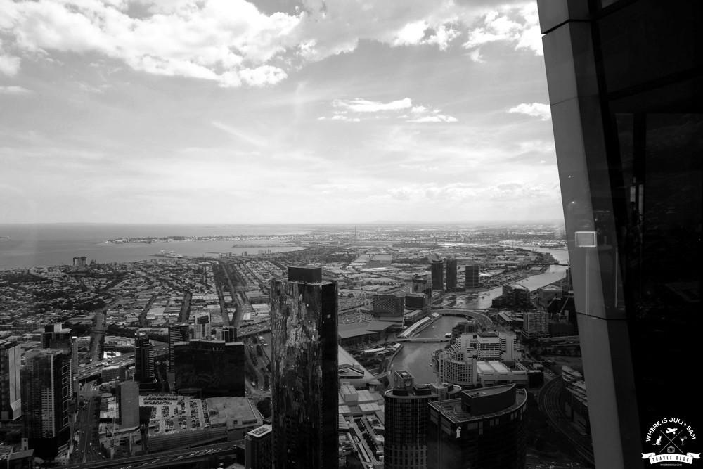 Widok na Melbourne 1