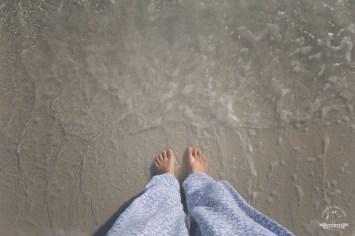 stopy w w wodzie