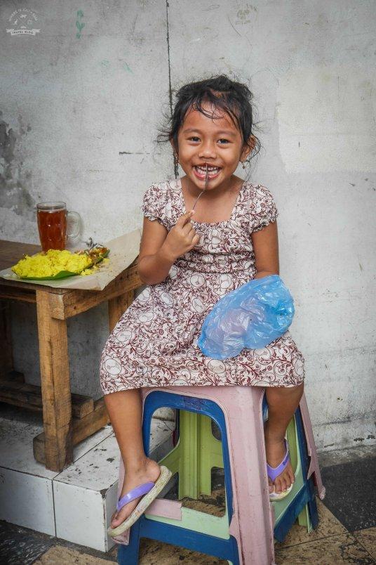 Dziewczynka w Ambon