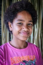 Dziewczynka z Fidzi Taveuni