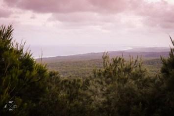 Moreton Island widok ze szczytu