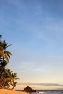 Zachod slonca na Fidzi