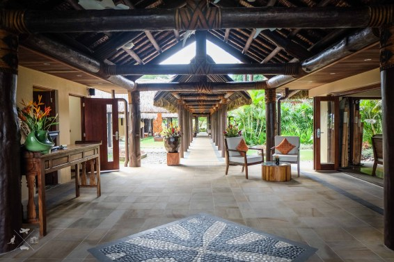 Nanuku Auberge Resort main reception