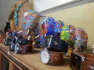 Beautiful elephants and watches