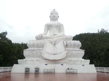 buddha on the top