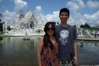 White temple couple