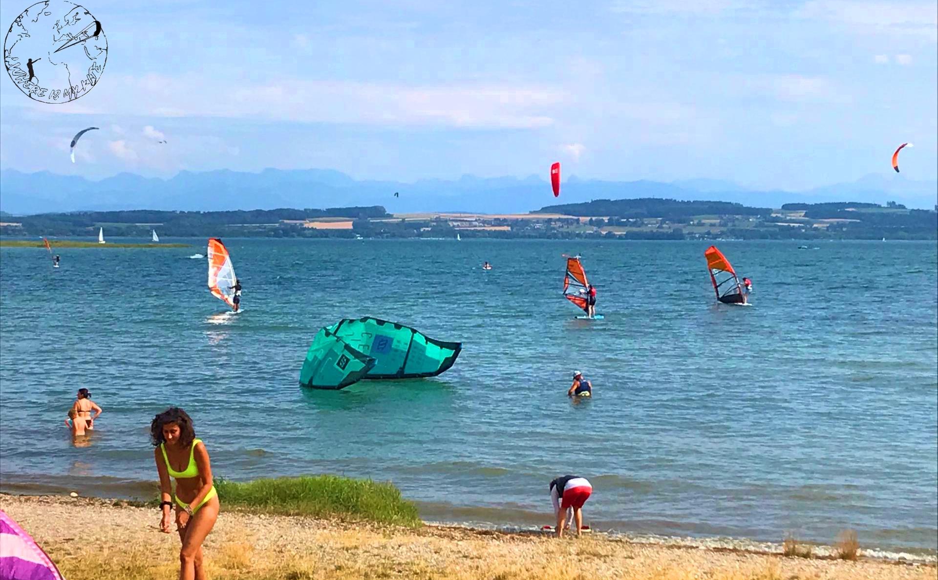 Comment faire un self-rescue en kitesurf