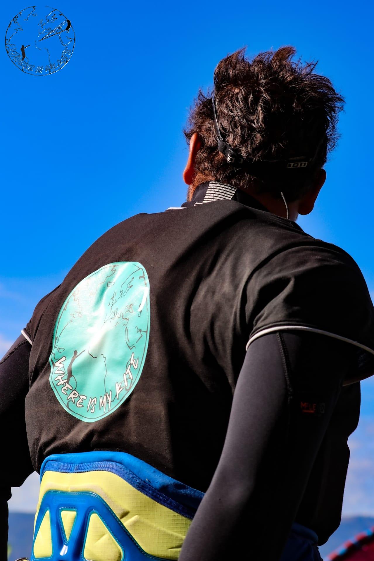 Spot d'Hermance, kitesurf session du dimanche en coaching