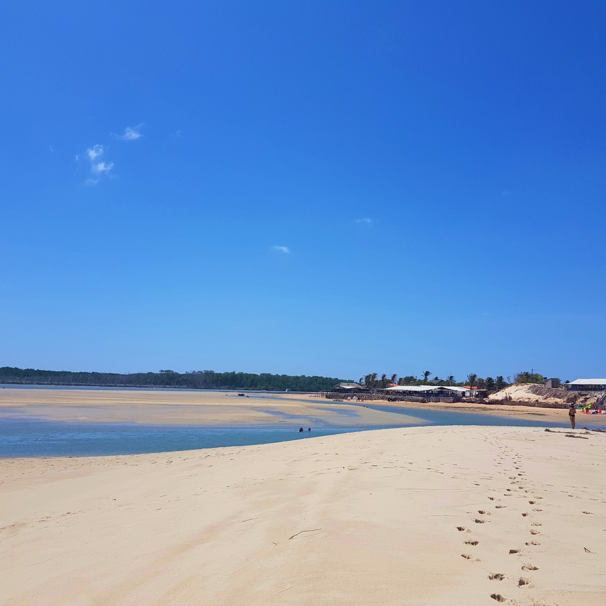 Plage de Macapa spot de kitesurf, kitetrip Brésil