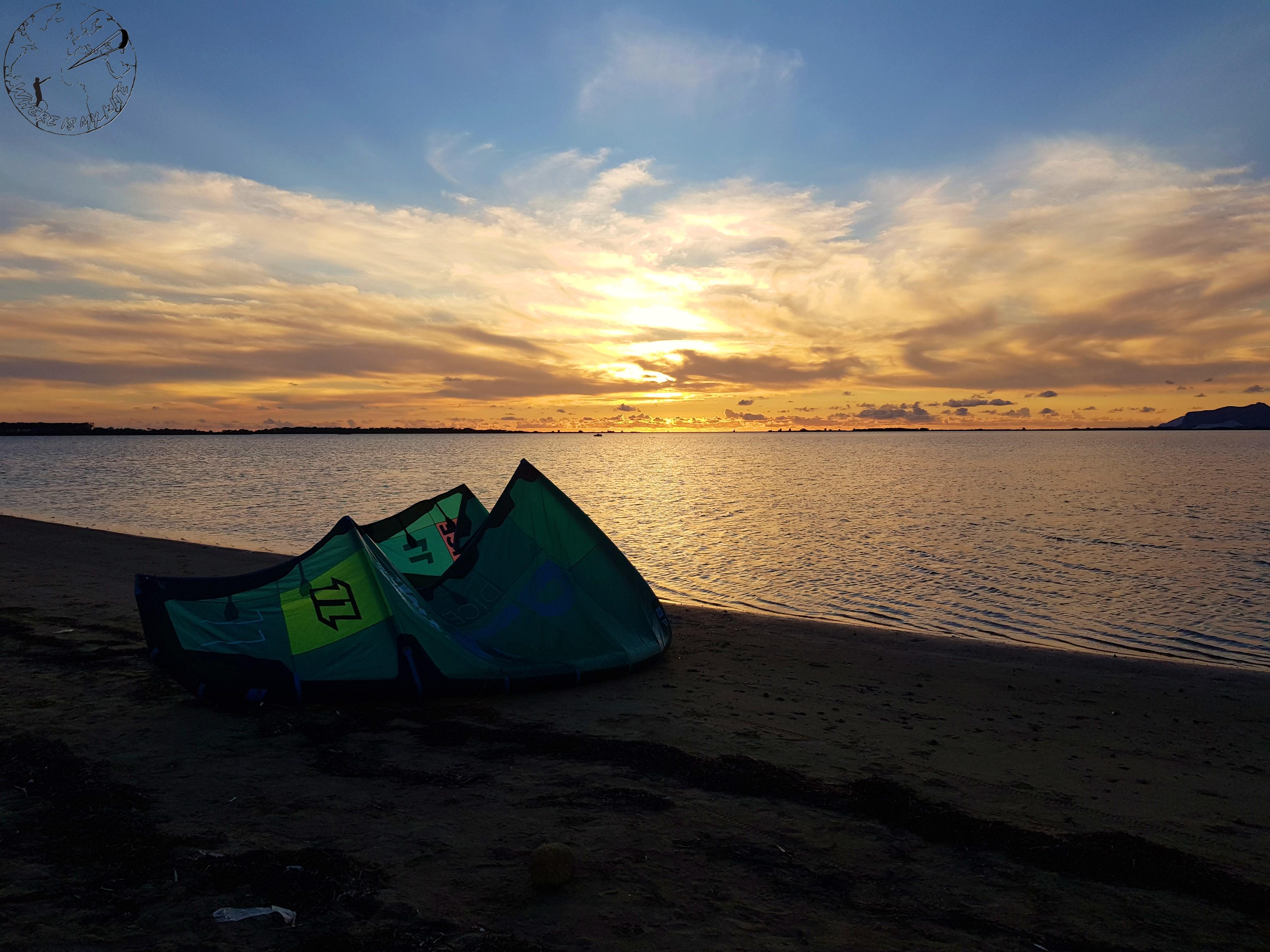 Spot de kitesurf de Marsala en Italie