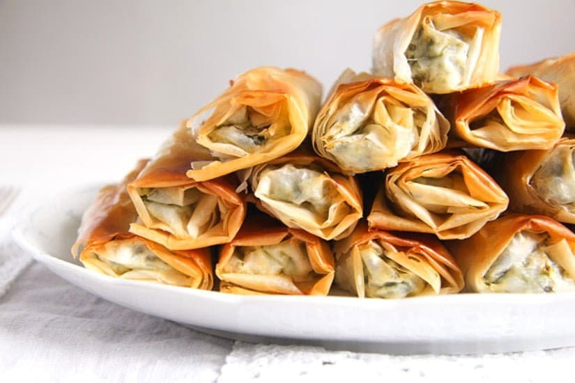 albanian cheese rolls 4 15 Easy Dishes for a Potluck Party