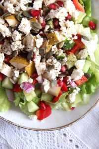 %name salad pomegranate autumn