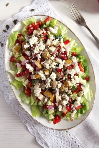 %name salad pomegranate feta