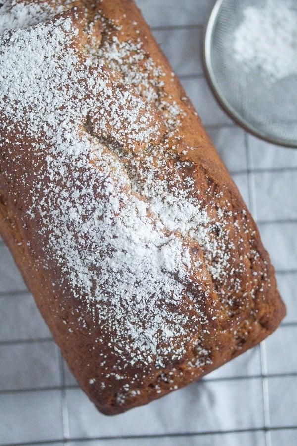 eggless banana cake 7 Eggless Banana Bread – Vegan Bread Recipe