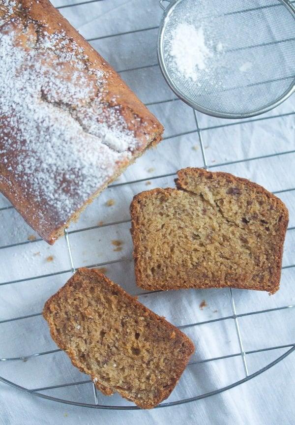 eggless vegan banana cake 10 Eggless Banana Bread – Vegan Bread Recipe