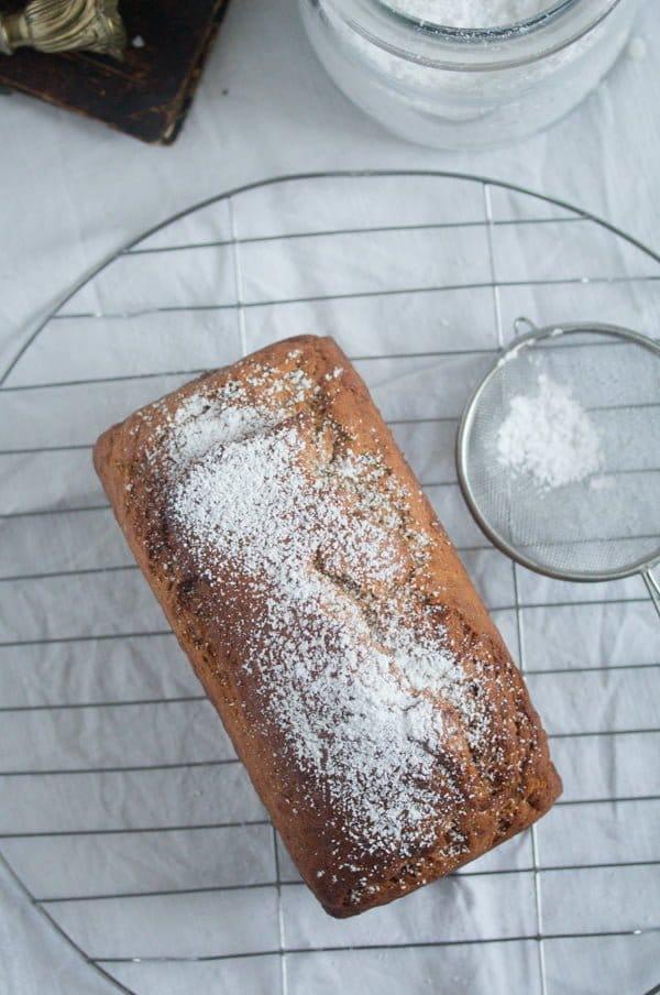 eggless vegan banana cake 6 Eggless Banana Bread – Vegan Bread Recipe