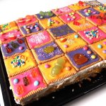 Biscuit Birthday Cake