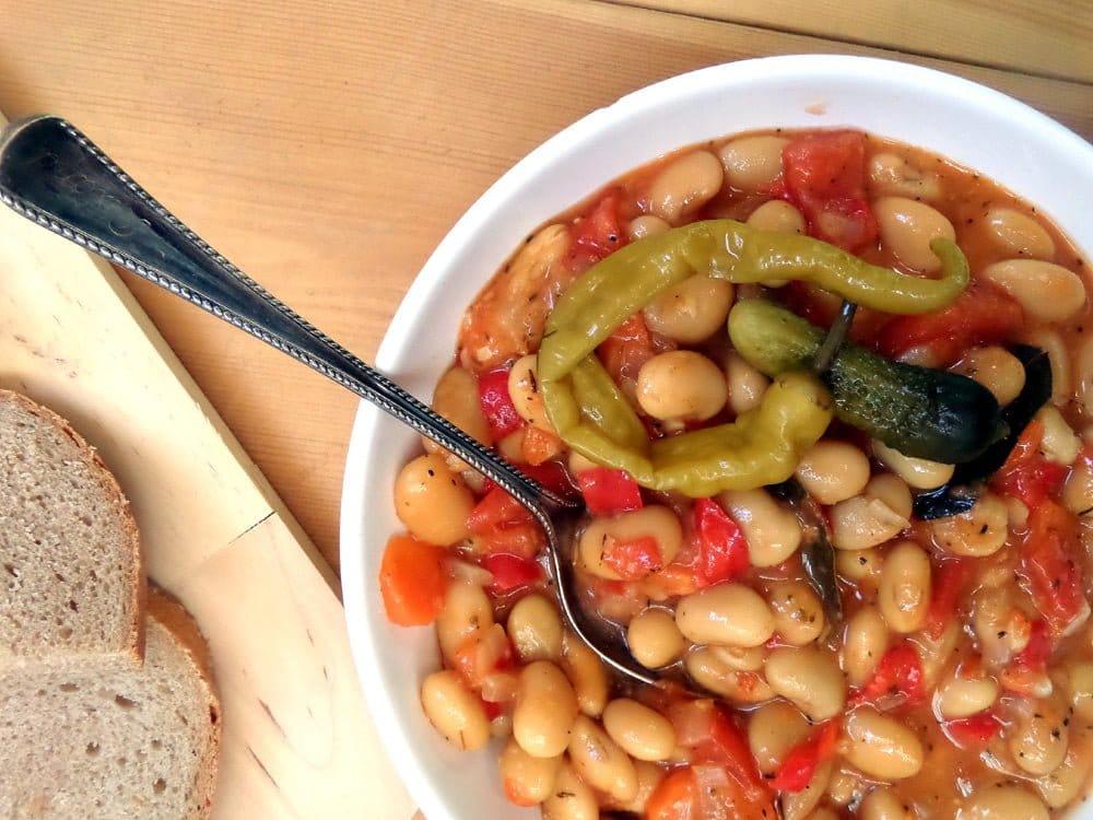 the best beans vegan3 New Potatoes in Tomato Sauce