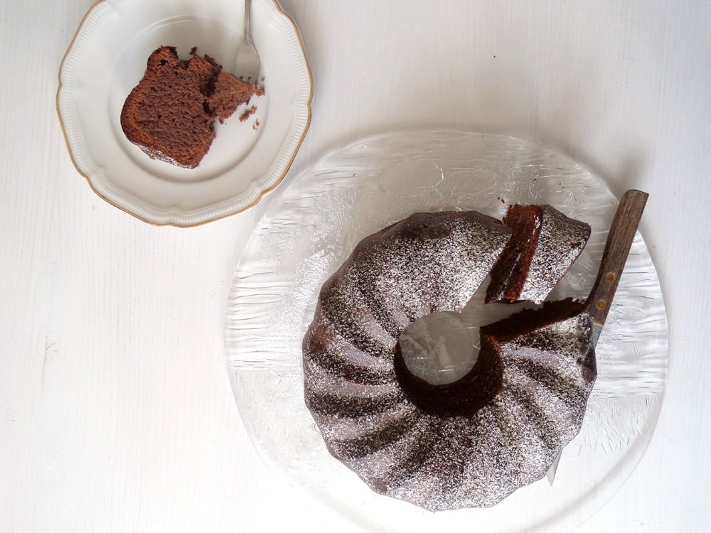 No Flour Chocolate Cake3 Moist Flourless Chocolate Cake with Almonds