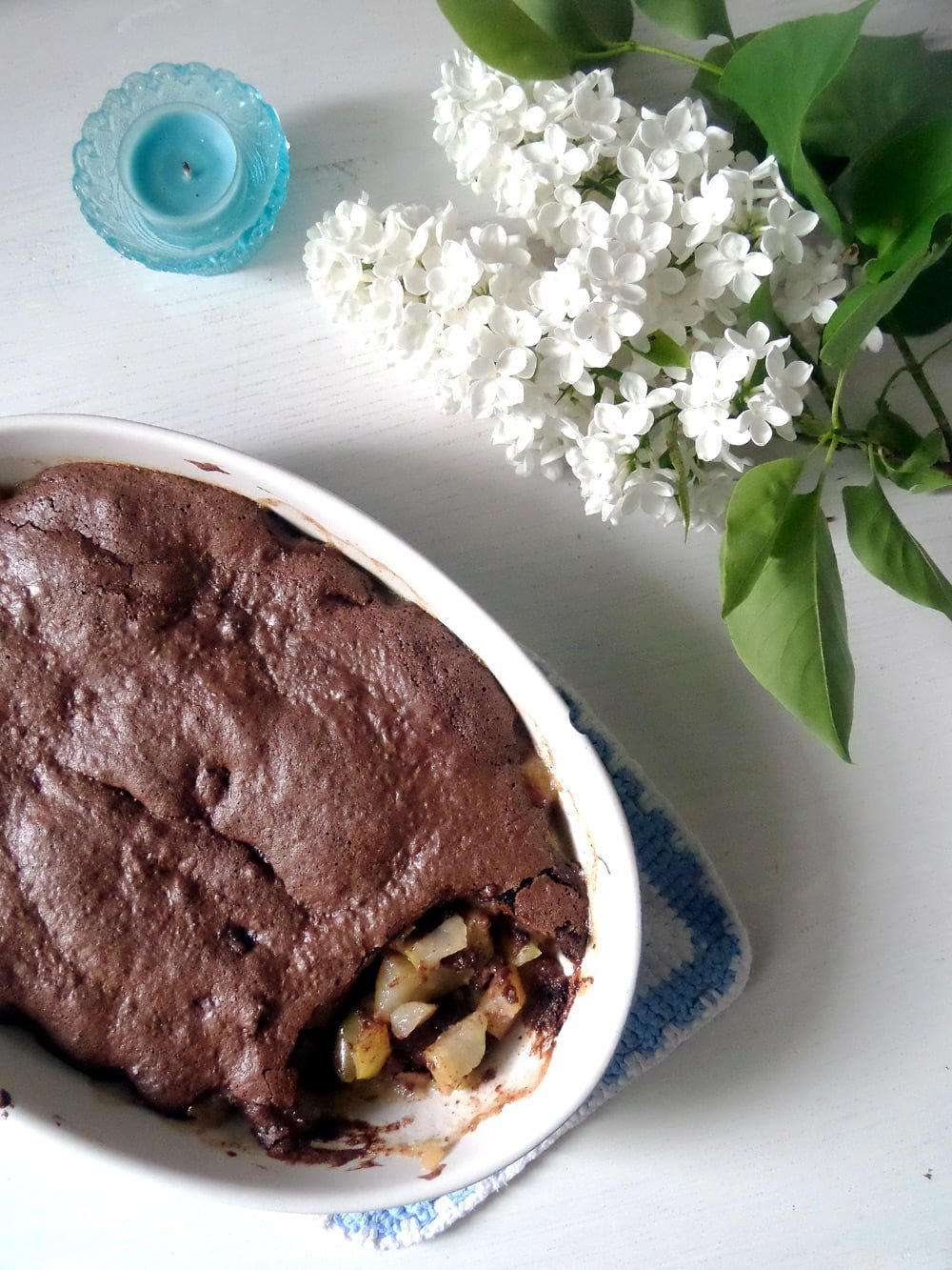 Chocolate and Pear Casserole