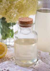 %name Homemade Elderflower Syrup or Elderflower Cordial