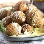 %name Baked Broccoli and Cauliflower Balls with Cheese
