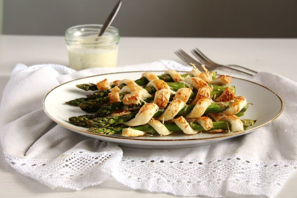 Crispy Asparagus with Lemon Mayonnaise