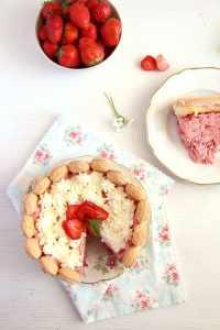 %name strawberry cake charlotte