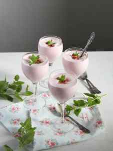 %name strawberry foam mint