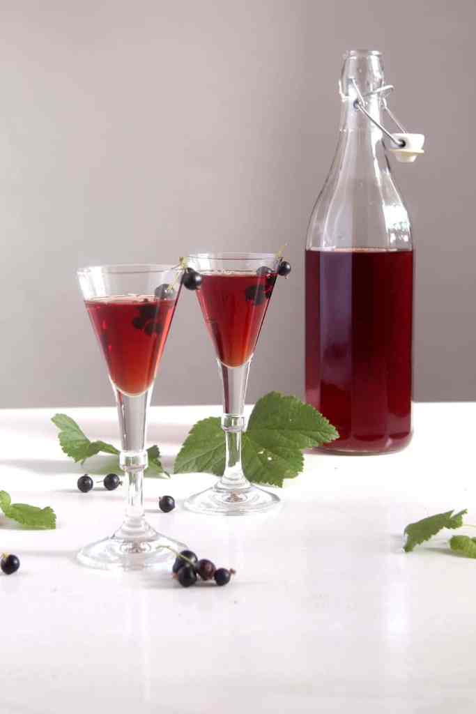 creme de cassis 683x1024 Homemade Crème de Cassis or Black Currant Liquor