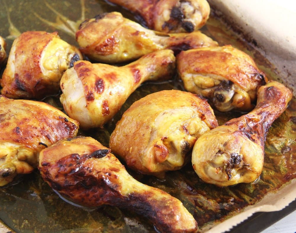 Turmeric Chicken Legs