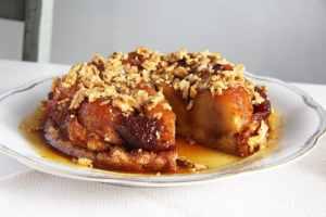 %name apple caramel cake