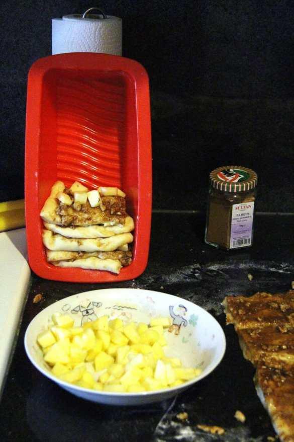 %name Apple Cinnamon Pull Apart Bread