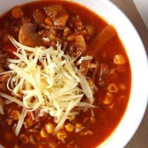 %name pizza soup cheese