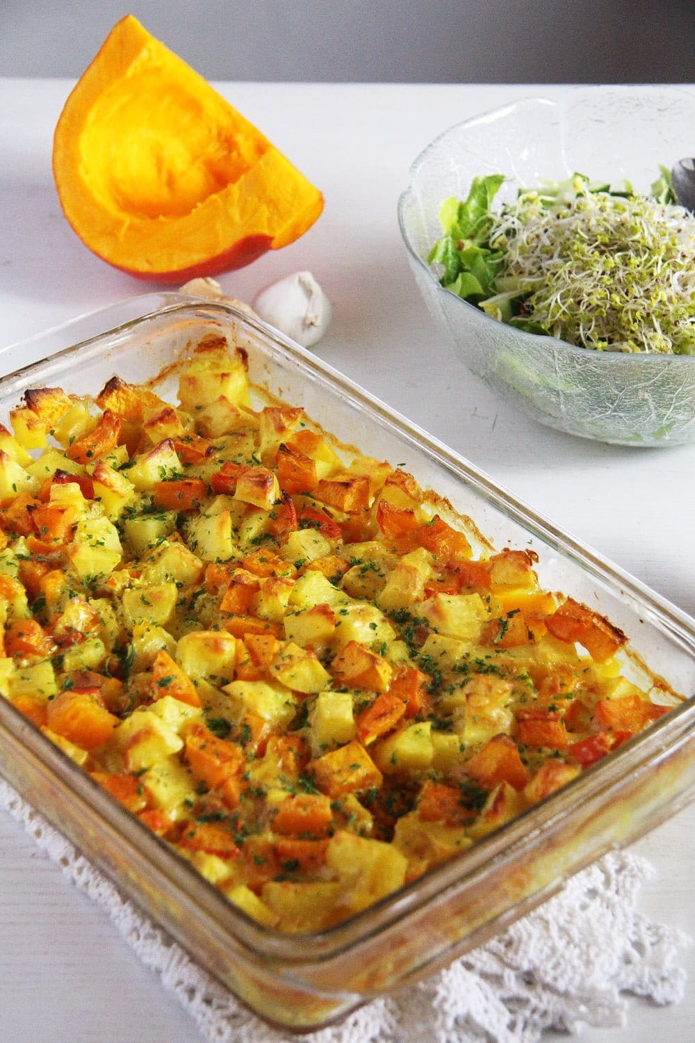 Pumpkin Potato Casserole