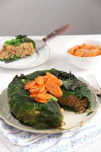 %name risotto cake savoy cabbage