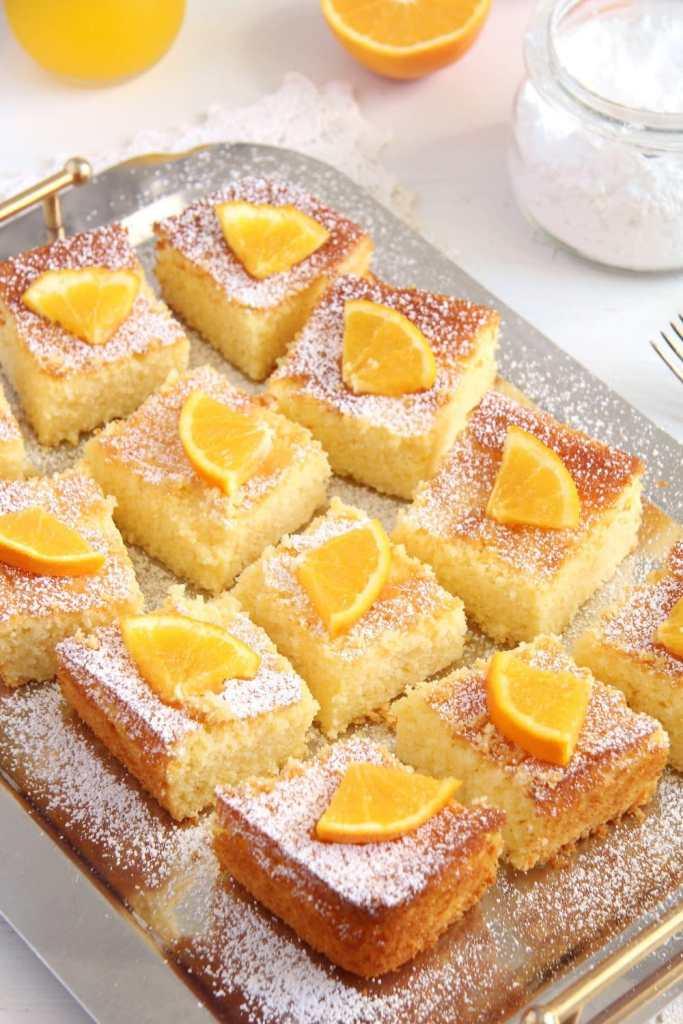 polenta cake cornmeal 683x1024 Moist Polenta Orange Cake – Malai dulce