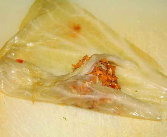 %name Vegan Rice Cabbage Rolls with Sauerkraut
