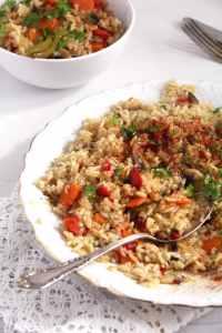 %name rice vegetable