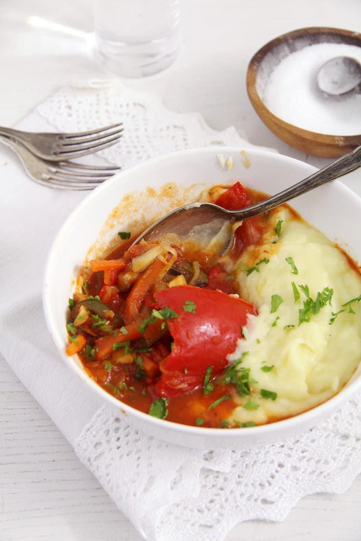 vegan peppers vegetables Vegan Stuffed Peppers