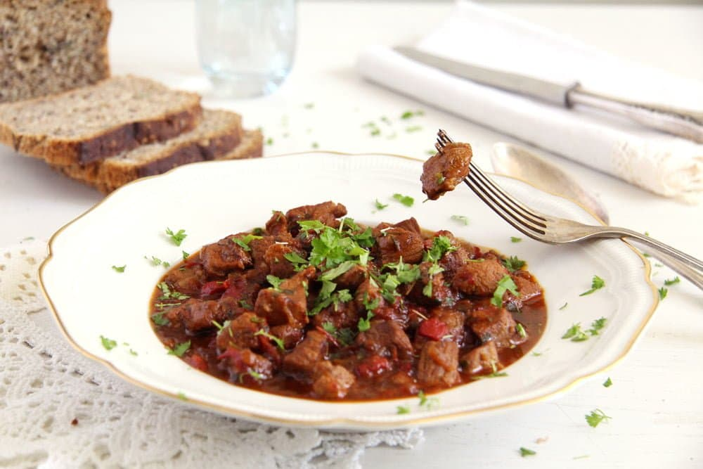 lamb stew Romanian Lamb Stew – Tocanita de miel