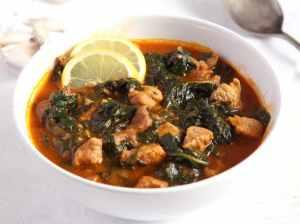 %name spinach stew garlic