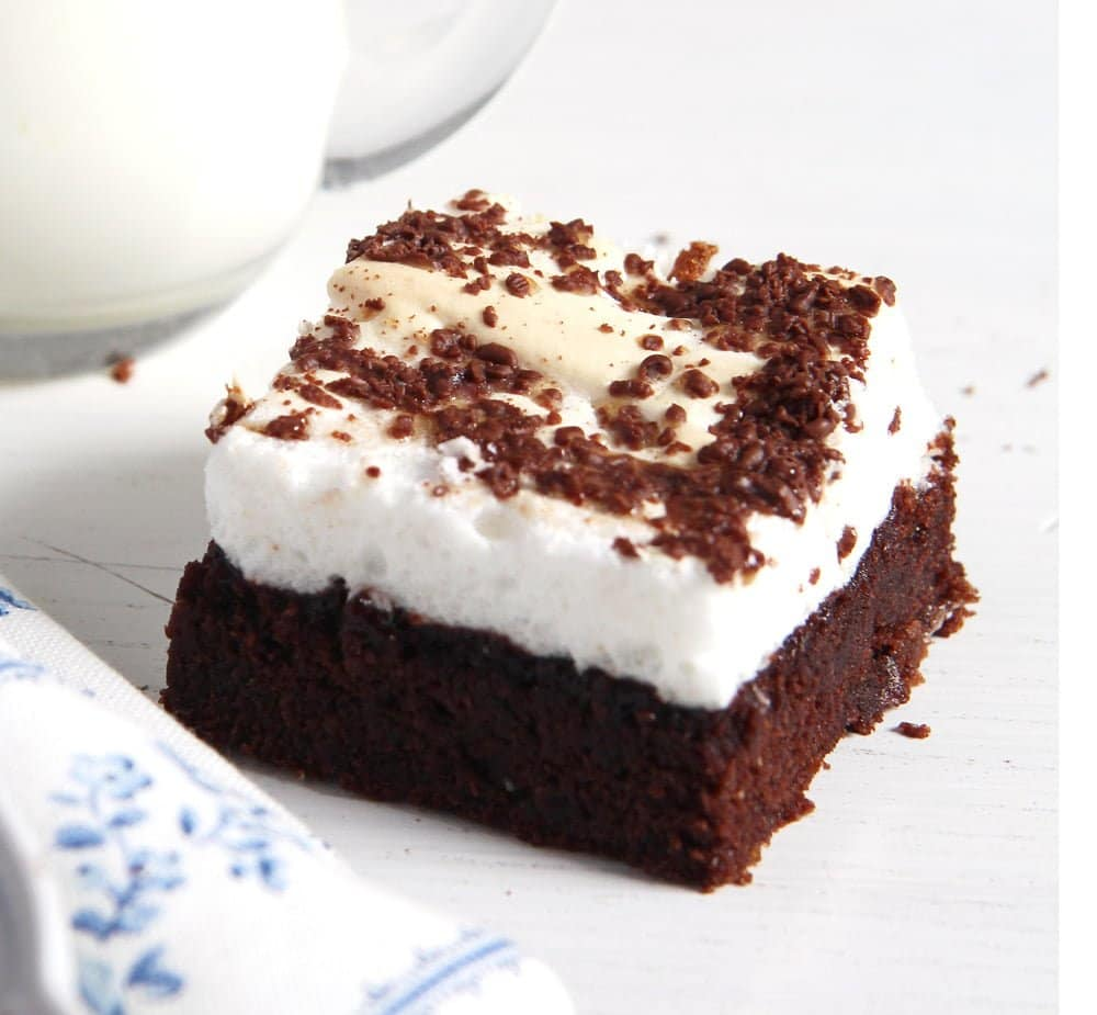 Meringue Brownies