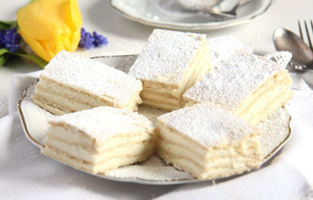 romanian lemon cake 4 Layered Lemon Cake Recipe with Lemon Buttercream