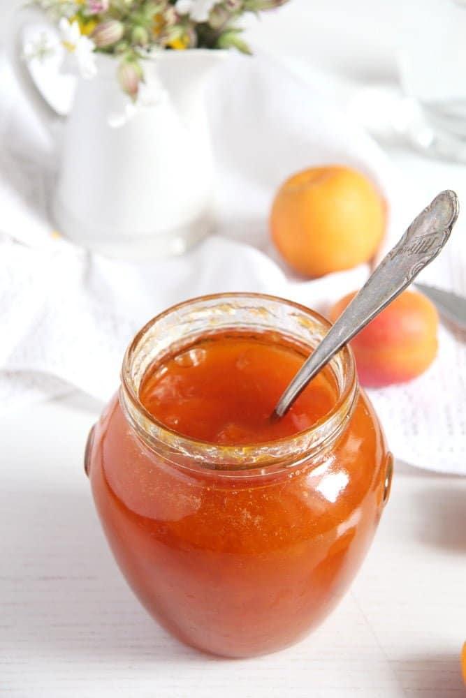 apricot jam simple Simple Apricot Jam