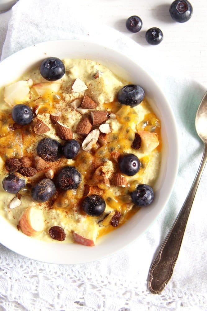 turmeric muesli Muesli with Yogurt, Berries and Turmeric Paste